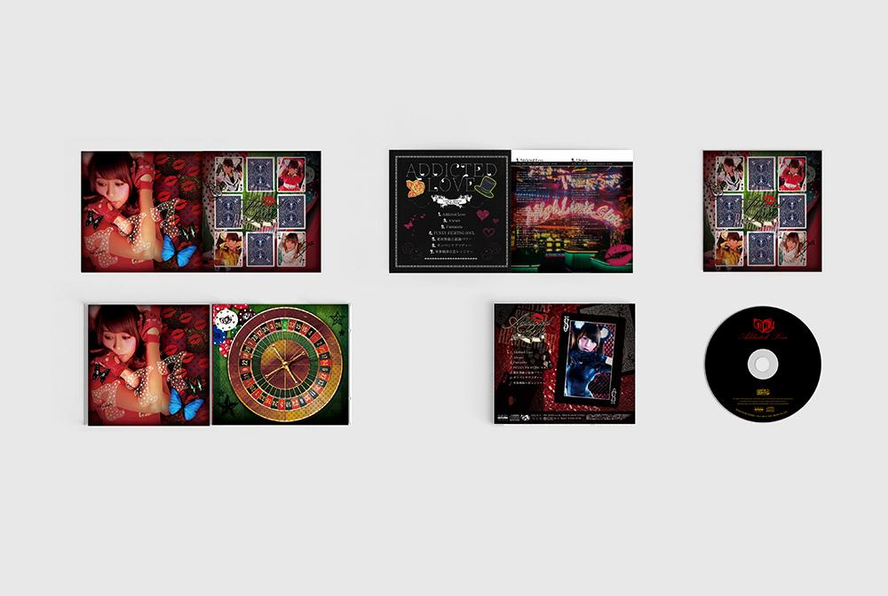音楽CDアルバム デザイン制作実績